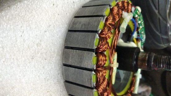 мотор-колесо чистое статор2
