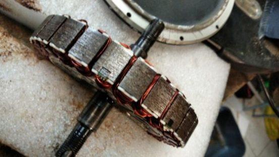 мотор-колесо механическая чистка
