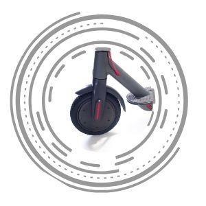 Xiaomi электросамокат колесо
